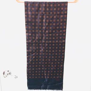 Givenchy Monsieur Vintage Silk/Wool scarf